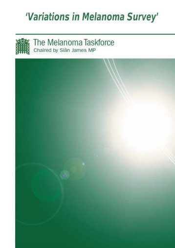 'Variations in Melanoma Survey' - BDNG