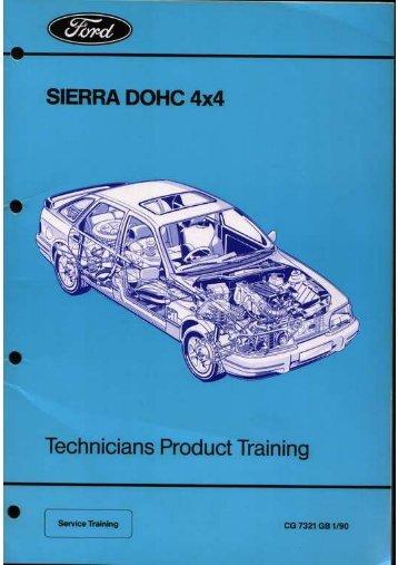 Manual Service Sierra 4x4 - Ford Sierra Net