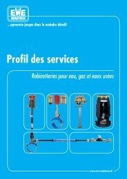 Profil des services - Ewe