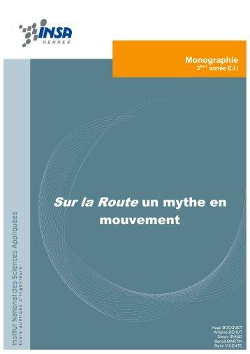 Monographie - Sur la route, un mythe en mouvement