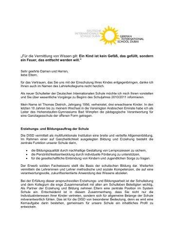 Brief Bü Knapp 121298 Hofpfisterei