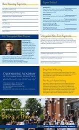 usFriday, October 7 and Saturday, October 8 Alumni Homecoming ...