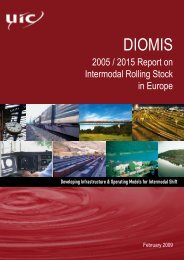 2005 / 2015 Report on Intermodal Rolling Stock in - UIC