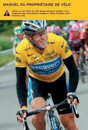 Manuel du propriétaire de vélo - Trek