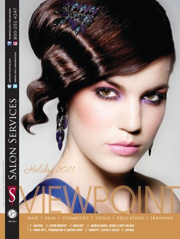 Holiday 2011 - Salon Services & Supplies