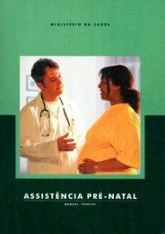 Assistência Pré-natal: Manual técnico - BVS Ministério da Saúde