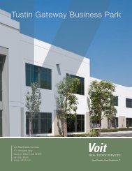 Tustin Gateway Business Park - Voit Real Estate Services