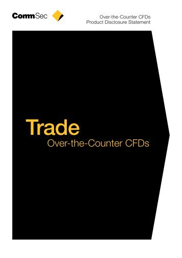 Over-the-Counter CFDs - ComSec