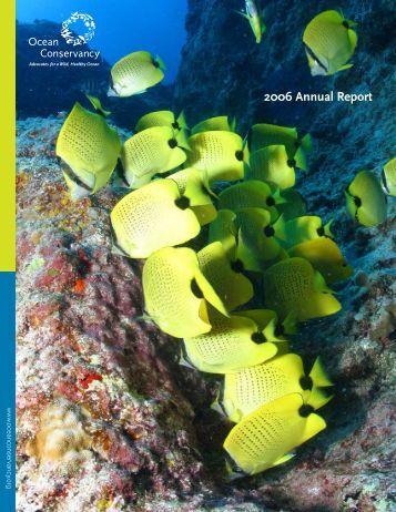 2006 Annual Report - Ocean Conservancy