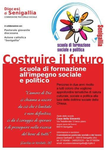 SCUOLA DI FORMAZIONE SOCIALE E POLITICA - I anno 2009-2010