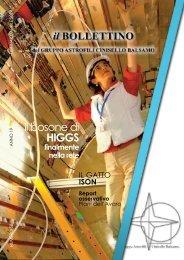 Il bosone di HIGGS - Gruppo Astrofili Cinisello Balsamo - Astrofili.org
