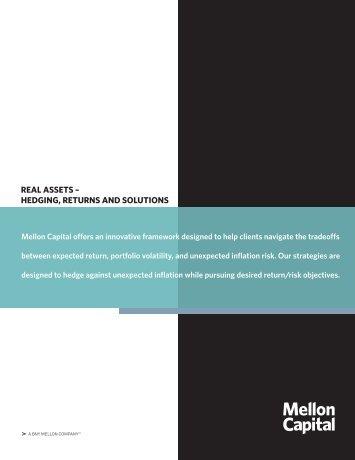 Our Real Asset Brochure - Mellon Capital