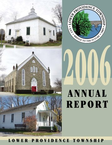 ANNUAL REPORT - Lower Providence Township