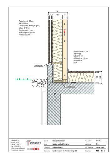 BRESTA Decken Doppelseite - Tschopp Holzbau AG