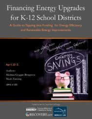 Financing Energy Upgrades for K-12 School Districts - Electricity ...