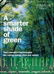 How innovative technologies are saving energy, time and money