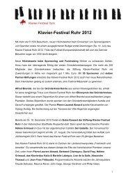 [PDF] Resümee Klavier-Festival Ruhr 2012 - LifePR.de