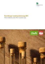 Vorarlberger Landesprämierung 2011