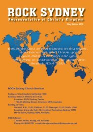 You are precious - ROCK Sydney Indonesian Church