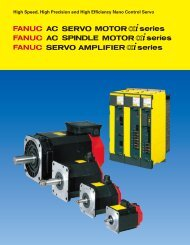 Fanuc AC Servo Motor Alpha i Series - CNC Engineering, Inc.