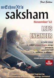 Download Saksham - Vol. 1 - YMCA University of Science ...