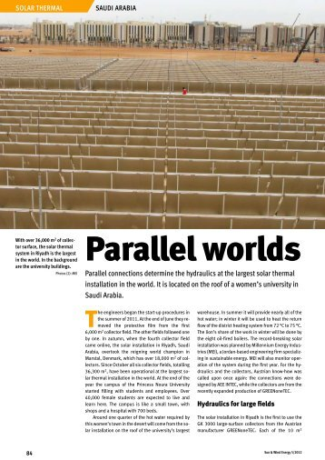 Parallel worlds - GREENoneTEC