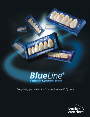 BlueLine Denture Teeth - Keating Dental Lab