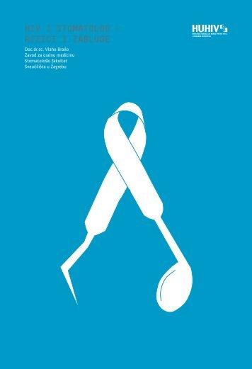 HIV I STOMATOLOG – RIZICI I ZABLUDE - HUHIV-a
