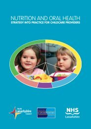 Nutrition and Oral Health - Strategy into Practice ... - NHS Lanarkshire