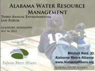 Alabama Water Resource Management