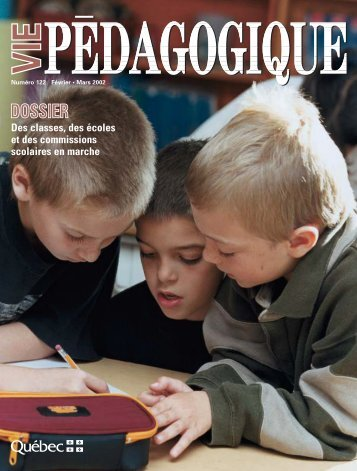 Vie pédagogique - Ministère de l'Éducation, du Loisir et du Sport ...