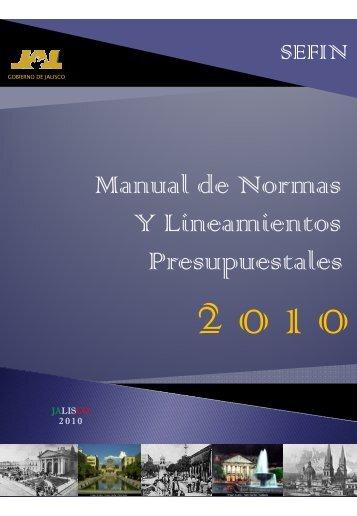 Manual de Normas y Lineamientos Presupuestales 2010.pdf