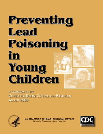 Preventing Lead Poisoning in Young Children - Centers for Disease ...