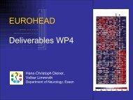 Neurologie im 21ten Jahrhundert Die Zukunft hat ... - Eurohead Project
