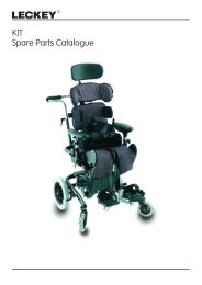 KIT Spare Parts Catalogue - Leckey