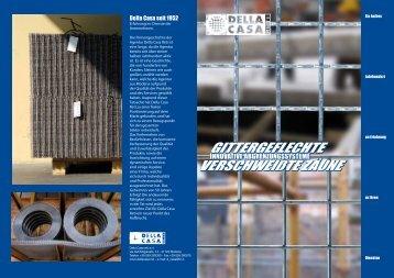 Kompletten Katalog herunterladen - Della Casa Reti S.r.l.