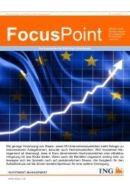 FocusPoint Teil 1 (PDF) - ING High Yield Strategien