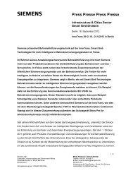 Press Presse Press Presse - Siemens