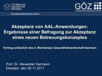 Vortrag Prof. Dr. Karmann