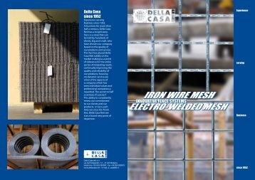 download the brochure - Della Casa Reti S.r.l.