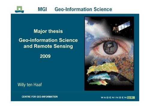 thesis topic wur mgi