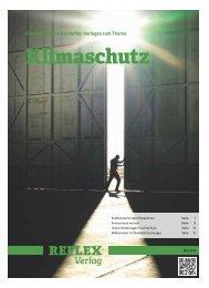 Eine Publikation des Reflex Verlages zum Thema