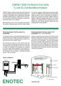 COMTEC 6000 O2 / COe InSitu Analyser Systems - Page 2