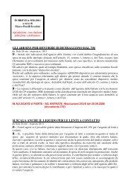 scarica le brevia num° 50 del 2011 - PERELLIERCOLINI.it