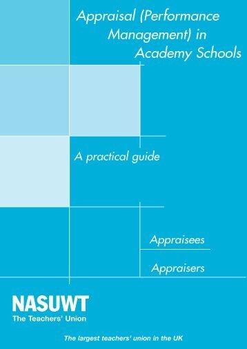 Appraisal (Performance Management) - NASUWT