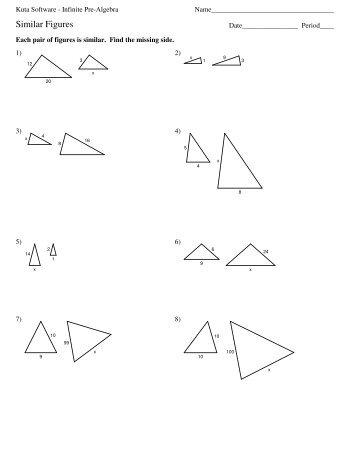 Similar Shapes Proportions Worksheet