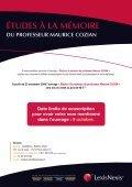 DU PROFESSEUR MAURICE COZIAN - LexisNexis - Page 4