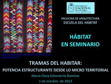 Hábitat - Universidad Nacional de Colombia