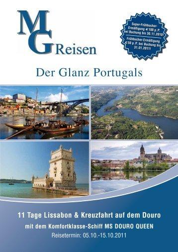 Der Glanz Portugals - MG Skandinavien Reisen