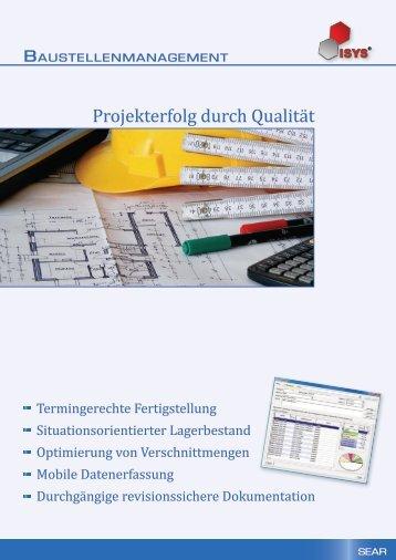 Baustellenmanagement - SEAR GmbH